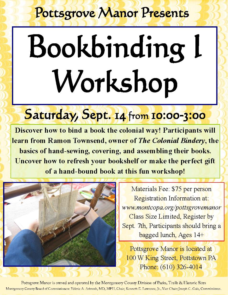Bookbinding Flyer