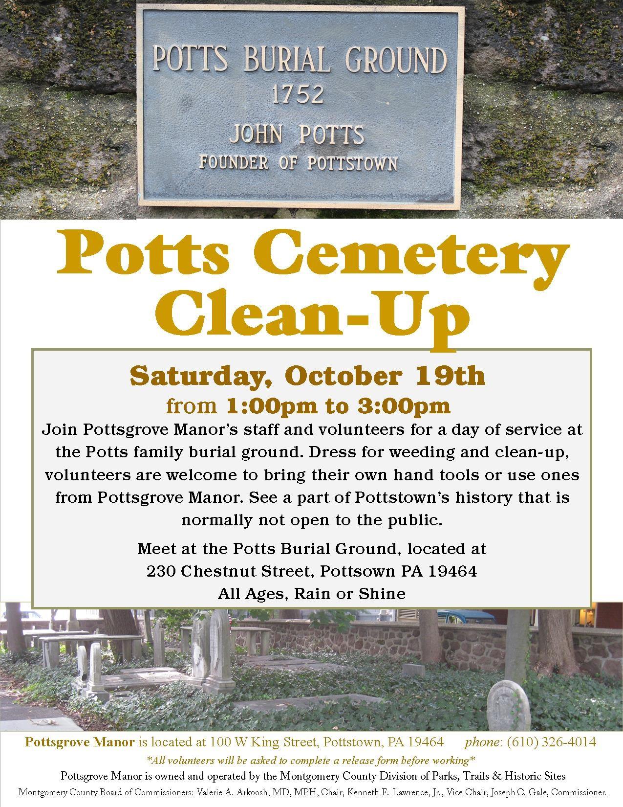 Potts Clean Up
